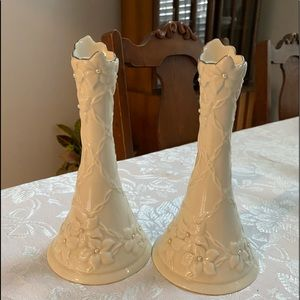 Lenox Cherish candlesticks
